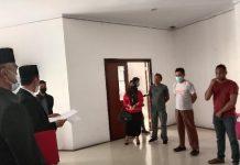 Sidak THL di Sekretariat DPRD Bolsel, Bupati Kecewa dan Akan Segera Evaluasi Kinerja Sekwan