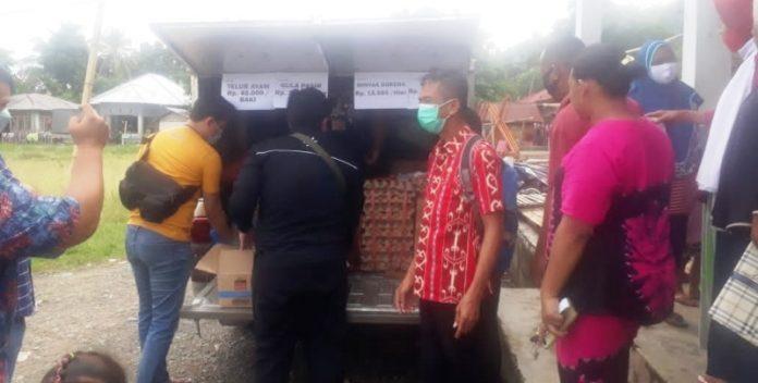 Jelang Idul Adha, Dinas Perdagangan dan ESDM Bomong Gelar Operasi Pasar