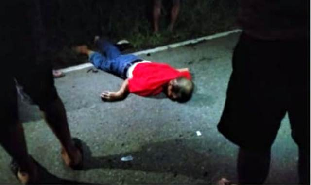 Ditemukan Sesosok Mayat di Jalan Trans Sulawesi Desa Dulangon
