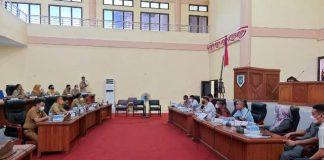 Banggar DPRD Gelar Rapat Bersama TAPD Pemkab Bolmong