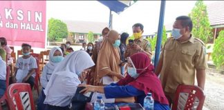 Pemkab Bolmong Gelar Launching Vaksinasi Covid-19 Bagi Anak Usia 12 Sampai 17 Tahun