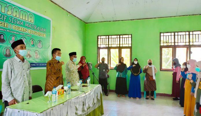 Masa Ta'aruf Siswa Madrasah di Bolmong Berakhir