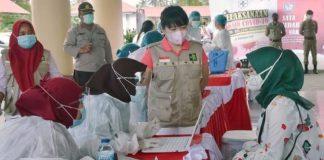Sebanyak 22 Ribu Warga Bolmong Sudah Disuntik Vaksin Covid-19