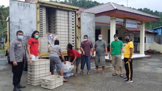 Polres Bolmong Gagalkan Penyelundupan 1.200 Liter Miras