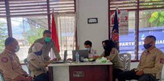 Anggota Tagana Kota Kotamobagu Terus Mengasah Kemampuan