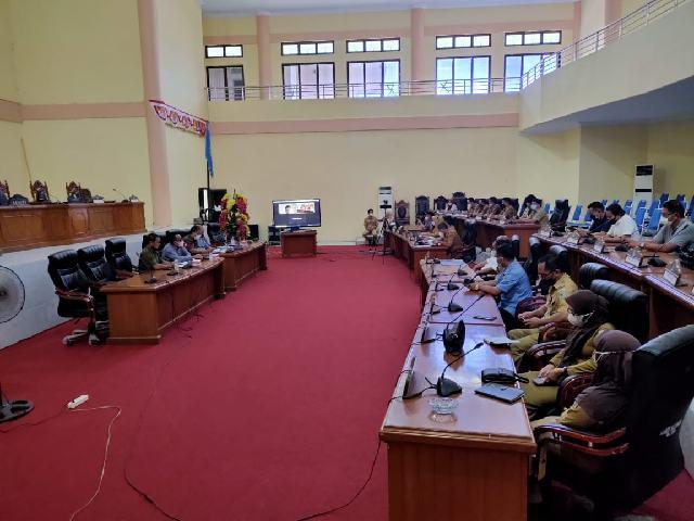 DPRD Bolmong Bahas Ranperda Inisiatif BUMDes dan Pajak Air Tanah