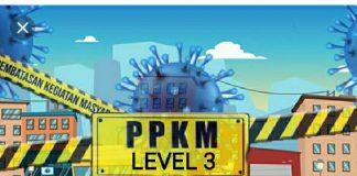 Bolmong Masuk Kategori PPKM Level 3