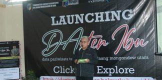 "Wabup Launching ""Daster Ibu"" Pariwisata Bolmut Tahun 2021"