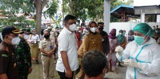 Ketua DPRD dan Unsur Forkopimda Dampingi Wali Kota Pantau Pelaksanaan Vaksinasi Massal