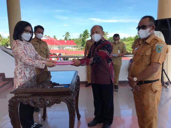 Pemkab Bolmong Berikan Dana Hibah Rp500 Juta untuk Peningkatan Kualitas Pendidikan di UDK