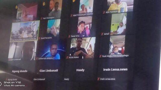 Diskominfo Bolmong Gelar Rapat Bersama Wartawan