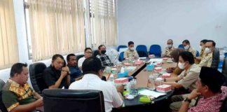 Banggar DPRD dan TPAD Pemkot Kotamobagu Gelar Rapat Finalisasi LPj APBD Tahun 2020