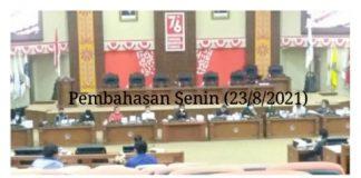 Banggar DPRD Provinsi Sulut dan TAPD Genjot Pembahasan KUA-PPAS Perubahan APBD Tahun 2021