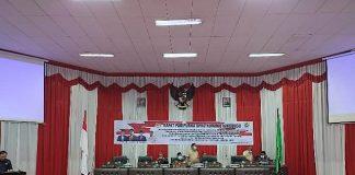 DPRD Kota Kotamobagu Gelar Rapat Paripurna Tingkat II Penetapan Tiga Ranperda