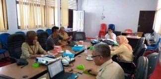 Bapemperda DPRD Kota Kotamobagu Bersama Sejumlah SKPD Bahas Review Ranperda Lembaga Adat