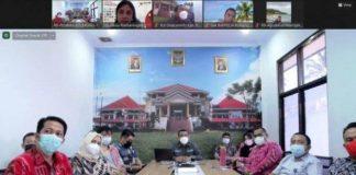 Pemkab Bolmong Ikut Rapat Bersama KemenPAN-RB