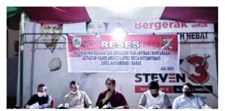 Anggota DPRD Kota Kotamobagu Dapil 3 Serap Aspirasi Masyarakat