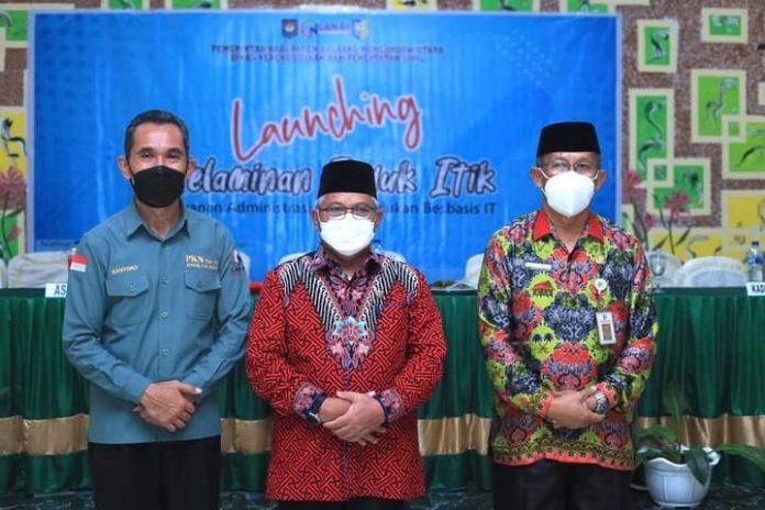 Wabup Launching Penerapan Pelaminan Induk Itik di Bolmut