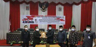 Wakil Wali Kota Nayodo Koerniawan Hadiri Rapat Paripurna KUPA-PPAS DPRD Kotamobagu