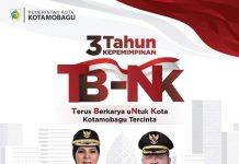 Refleksi 3 Tahun Kepemimpinan Wali Kota Ir. Hj. Tatong Bara dan Wakil Walikota Nayodo Koerniawan, SH.