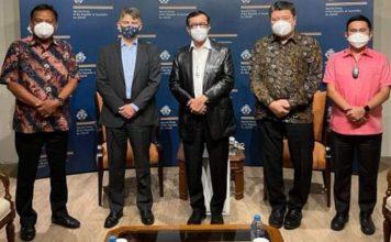 Rocky Wowor Dampingi Gubernur Sulut Bahas Peluang Kerja Sama dengan Dubes Inggris dan Seychelles