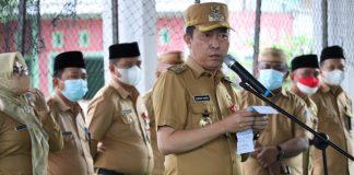Kunker di Tiga Kecamatan, Iskandar Kamaru Tekankan Percepatan Vaksinasi Covid-19