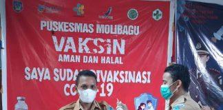 Pemerintah Desa Tangagah Laksanakan Vaksinasi Tahap 1 dan 2