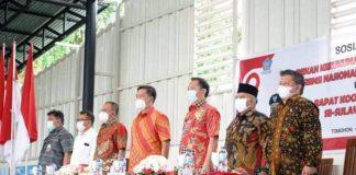 Wakil Wali Kota Kotamobagu Hadiri Rapat Koordinasi Persiapan Konferensi Nasional FKUB ke-VI se-Indonesia