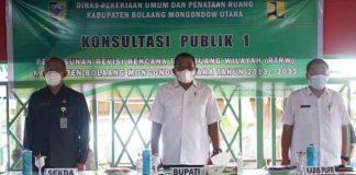 Bupati Buka Konsultasi Publik I Penyusunan Revisi RTRW Bolmut