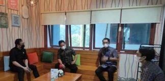 Wakil Wali Kota Kunjungan ke PT PLN Persero UP3 Kotamobagu