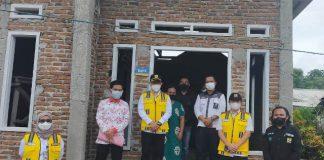 Balai P2P Sulut Laksanakan Monitoring dan Evaluasi Progam BSPS di Kabupaten Bolsel