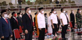 Bupati Bolsel Hadiri Pelantikan FKUB Provinsi Sulut