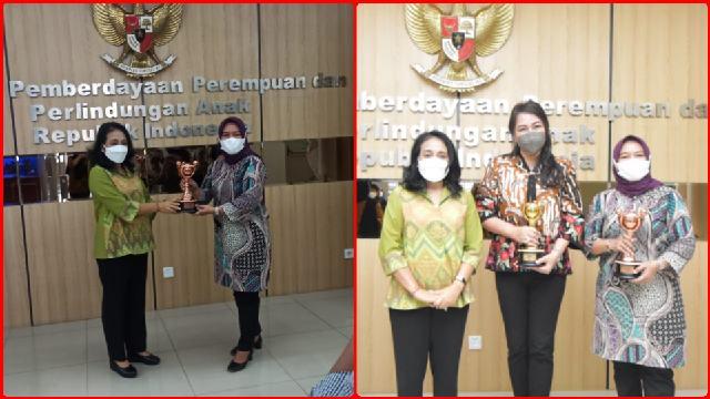 Pemkot Kotamobagu Terima Penghargaan Anugerah Parahita Ekapraya dari Kementerian PPPA