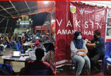 Dinkes Kotamobagu Kembali Gelar Vaksinasi Massal di Pasar Kuliner