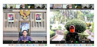 Wali Kota Hadiri Sosialisasi dan Tata Cara Pengimputan IID Tahun 2021 Secara Virtual