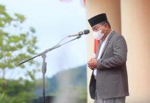 Bupati Bolmut Pimpin Upacara Peringatan Hari Santri Nasional Tahun 2021