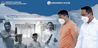 Desain Rudis Bupati Bone Bolango Menarik Perhatian Bupati Boltim