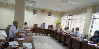 RDP Bersama Dinas PUPR dan Perkimtan, Komisi III DPRD Provinsi Sulut Minta Sejumlah Proyek Infrastruktur Segera Diselesaikan