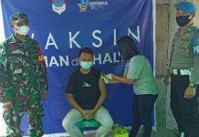 Hari Pertama Penyekatan Wilayah, 190 Orang di Vaksin Tim Posko Boltim-Mitra