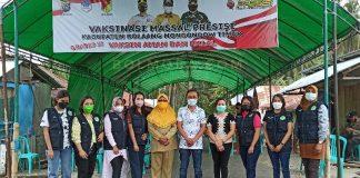 Capaian Vaksinasi Covid-19 di Kabupaten Boltim Terus Meningkat