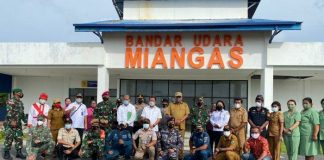 Gubernur dan Unsur Forkopimda Sulut Dampingi Menteri KP Kunjungi Miangas