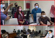Kunker ke Pemkot Kotamobagu, Bappeda Kota Palu Studi Komparasi Pelayanan Publik