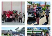 TNI dan POLRI Berkolaborasi Laksanakan Serbuan Vaksinasi di Kecamatan Pinolosian Bersatu